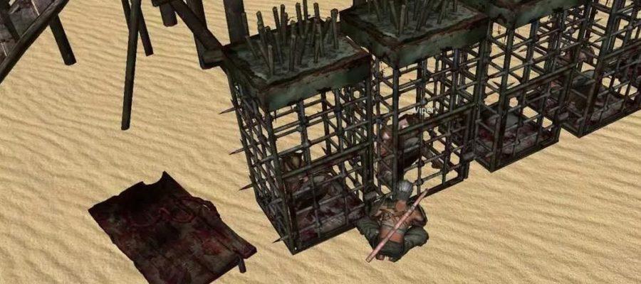 Клетка для пленных