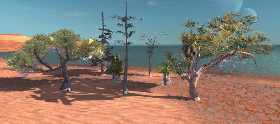 Мод на посадку деревьев