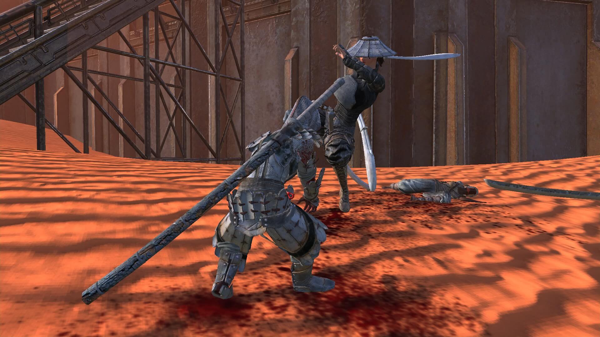 Новые боевые анимации