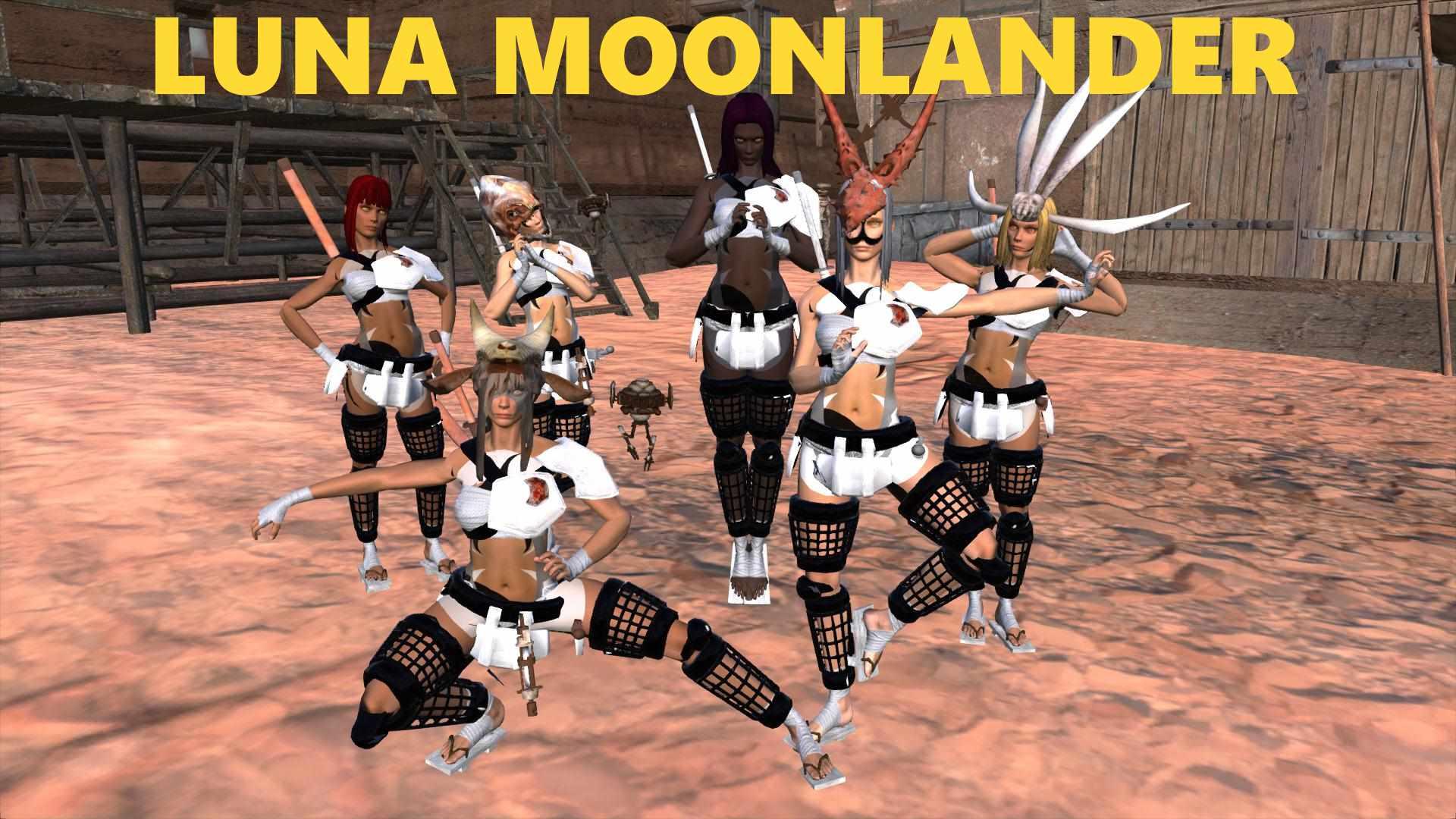 Kenshi мод на расу Лунные жители