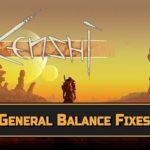 General Balance Fixes — изменение баланса игры