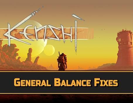 General Balance Fixes - изменение баланса игры