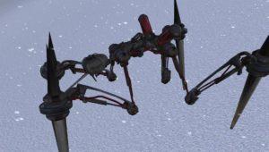 Робот скелет